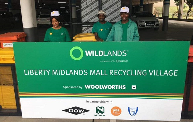 midlands mall wildlands recycle village